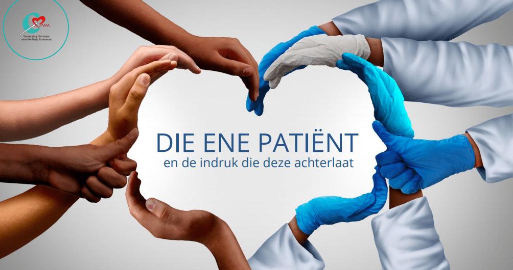 Bemachtig nu een ticket voor VCMS openingsactiviteit: 'Die ene patiënt'